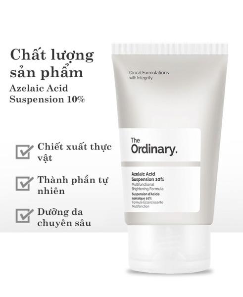 The Ordinary Azelaic Acid Suspension 10% Kem dưỡng trắng da ngừa mụn làm sáng da dưỡng ẩm Whitening Cream Skin Care Moisturizing giá rẻ
