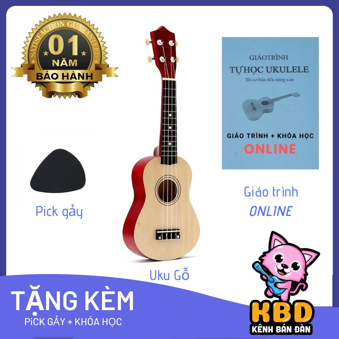 [TẶNG KÈM KHÓA HỌC] Đàn ukulele TẶNG KÈM PHỤ KIỆN