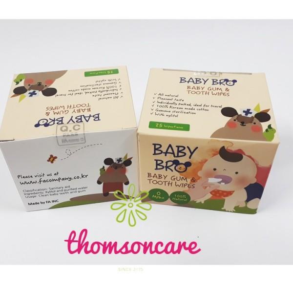 [Lấy mã giảm thêm 30%]Gạc rơ lưỡi Baby Bro Hàn Quốc Baby Pro sản phẩm có nguồn gốc xuất xứ rõ ràng sử dụng dễ dàng cam kết hàng nhận được giống với mô tả giá rẻ