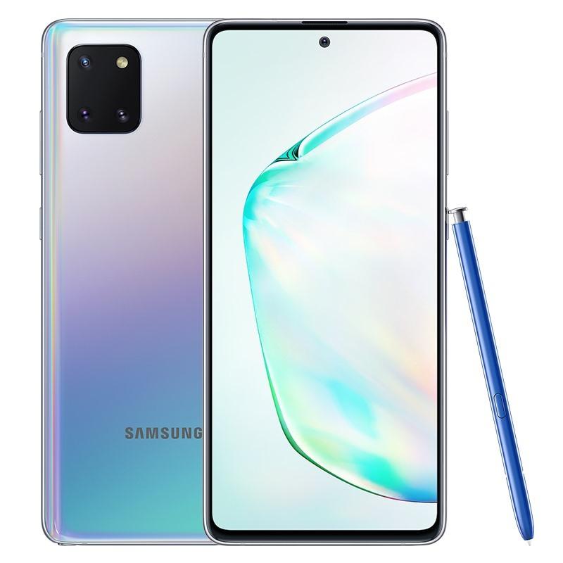 Điện thoại Samsung Galaxy Note 10 Lite (8GB/128GB)- Bộ 3 camera sau 12MB Màn hình tràn viền 6.7 Super AMOLED Độ phân giải Full HD+ Pin 4500mAh Hàng Chính Hãng - Bảo hành 12 Tháng
