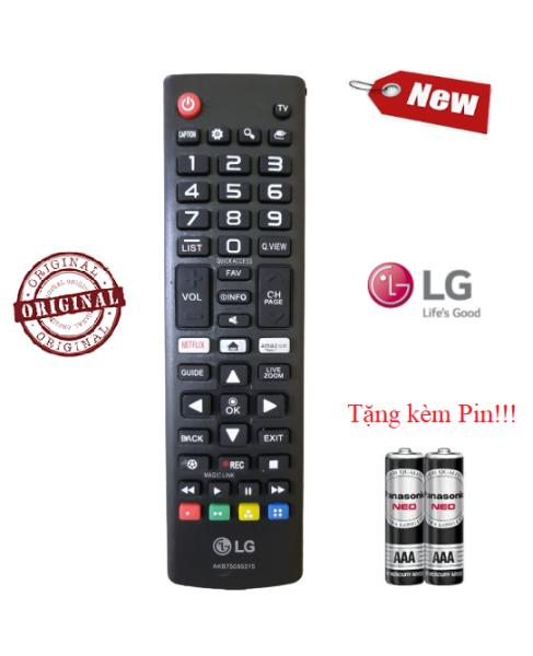 Bảng giá Điều khiển tivi LG AKB75095315- Hàng mới chính hãng LG 100% Tặng kèm Pin
