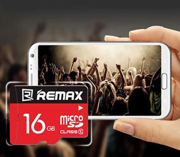 Thẻ nhớ MicroSD REMAX 16GB tốc độ class 10 chuyên dụng, thẻ nhớ điện thoại, thẻ nhớ máy ảnh, thẻ nhớ máy chụp hình, thẻ nhớ 16GB Class 10