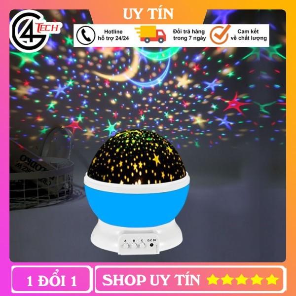 💝Freeship💝-Đèn Ngủ Chiếu Sao Tự Xoay  đèn ngủ để bàn Bầu Trời Trăng Sao, Đèn trang trí phòng ngủ chi sinh động,đèn vũ trường,đèn chiếu