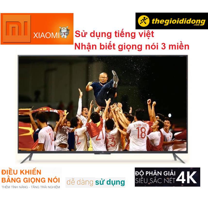 Bảng giá ( BẢO HÀNH TRỌN ĐỜI GIẢM GIÁ 50% ) Smart Tivi Xiaomi 4K 55 Inch - Việt Hóa 100% - Điều Khiển Giọng Nói