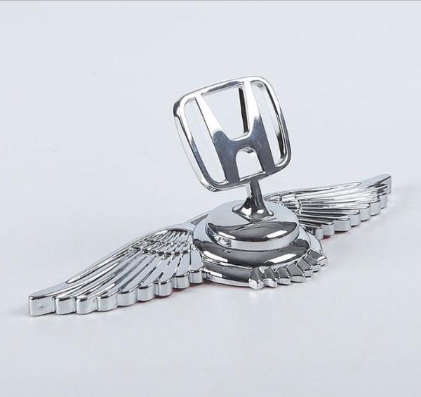 Logo cánh chim 3D dán capo xe ô tô cao cấp LG09
