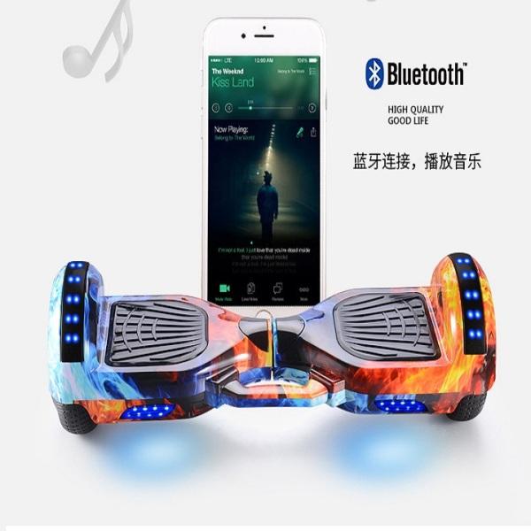 Phân phối Xe cân bằng điện - Xe cân bằng - Xe cân bằng điện có kết nối bluetoot nghe nhạc không dây