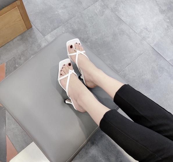 Dép thời trang nữ cao cấp gót cao 5p êm chân mã B7 giá rẻ