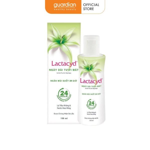 Dung dịch vệ sinh phụ nữ Lactacyd ngày dài tươi mát (150ml)
