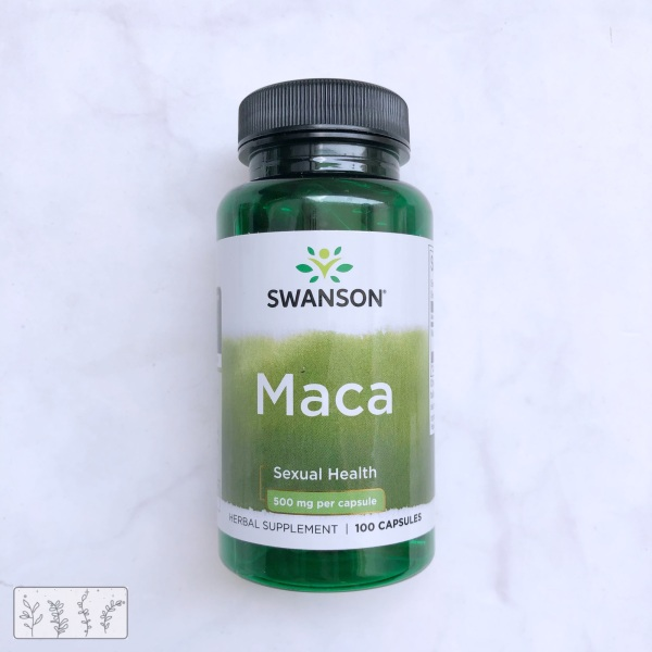 Viên uống Swanson Maca tăng cường sinh lý nam nữ 100 viên tốt nhất