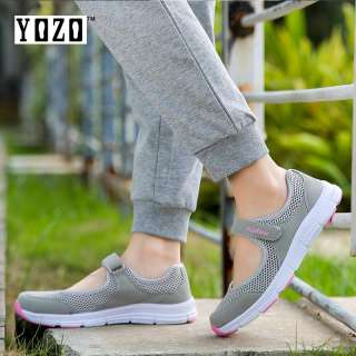 YOZO Casual Mother Shoes Lightweight Shoes Women'S Shoes Comfortable Breathable Elderly Shoes Mesh Shoes - intl