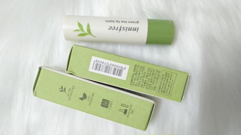 Son dưỡng  Trà Xanh (Green Tea)