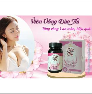 Đào Thi - Viên Uống Nỡ Ngực Tăng Size Vòng 1 [Cam Kết Chính Hãng 100% ] thumbnail