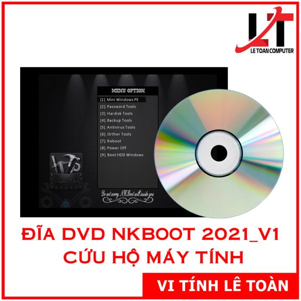 Bảng giá Đĩa DVD NKBoot 2021 v1 - Bộ Công Cụ Cứu Hộ Máy Tính Phong Vũ