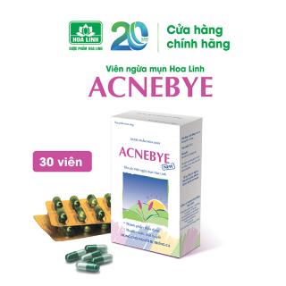 Thực phẩm chức năng hỗ trợ điều trị trứng cá Acnebye 30 viên thumbnail
