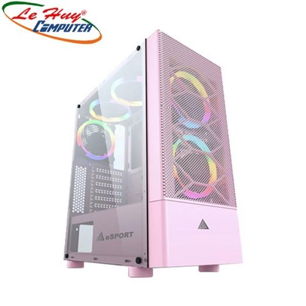 Bảng giá Vỏ Case Máy Tính Vsp Gaming B86P Pink (No Fan) Phong Vũ