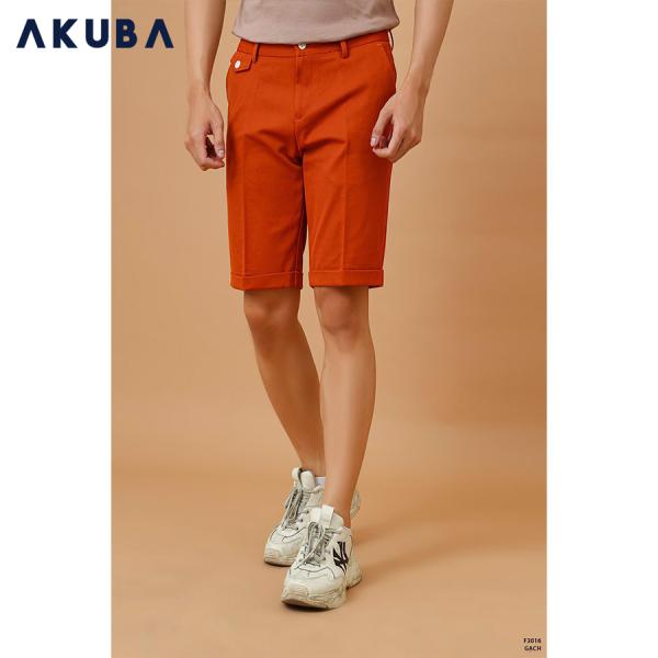 AKUBA QUẦN SHORT KAKI NAM BASIC F3016