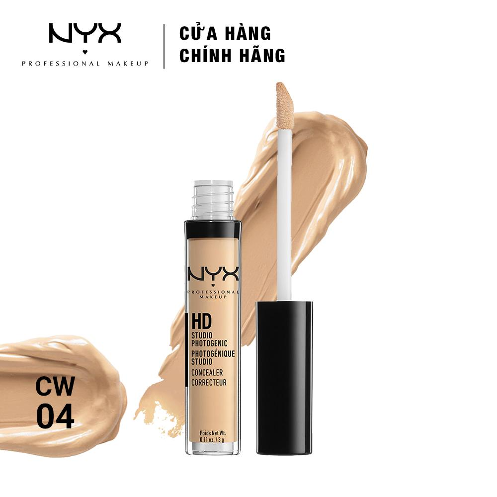 Nyx M Phm Chnh Hng Gi Cc Sc Vi Cosmetics Shine Killer Sk01 Che Khuyt Im Professional Makeup Hd Studio Photogenic Concealer Wand Cw04 Beige 3g