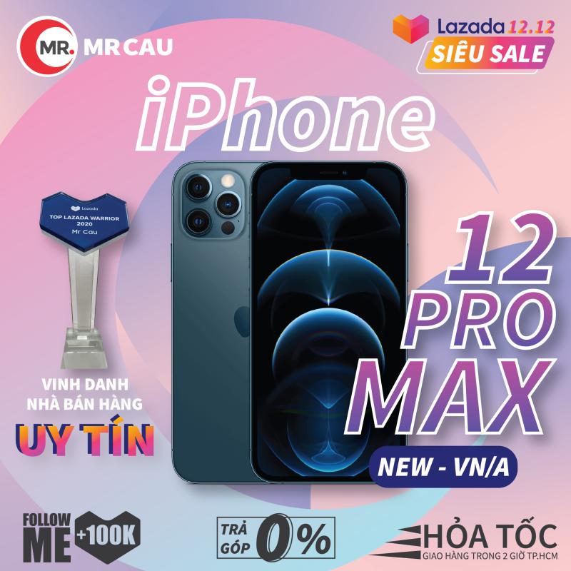 Điện thoại Apple iPhone 12 PRO MAX 256GB NEW - VN/A CHÍNH HÃNG