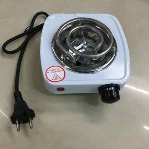 Bếp hơ lá trầu cho bé, bếp điện mini 500W - Bảo hành 6 tháng
