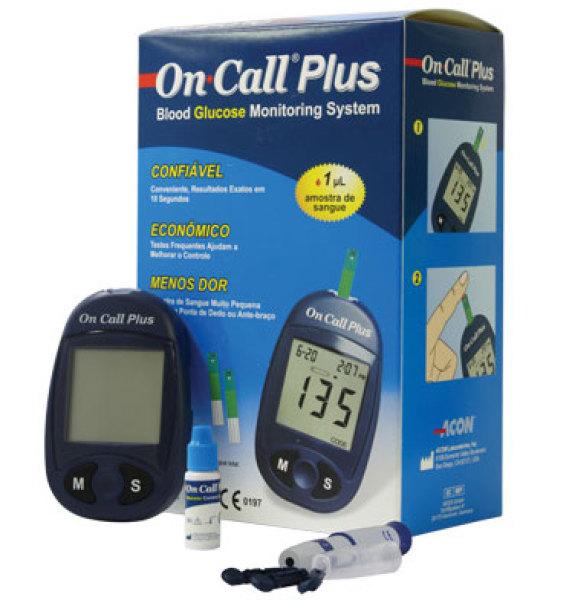 Máy thử đường huyết On Call Plus của Mỹ siêu nhạy, độ chính xác cao, bảo hành trọn đời bán chạy