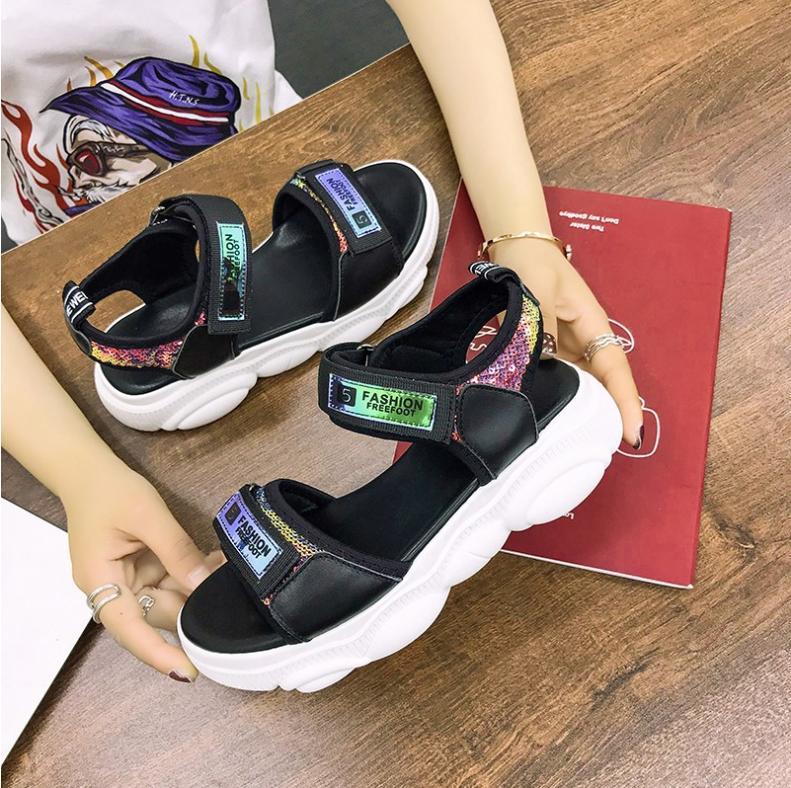 Offer Giảm Giá Giày Sandal Nữ Hàng Nhập Phong Cách Thời Trang Hàn Quốc - XS0553