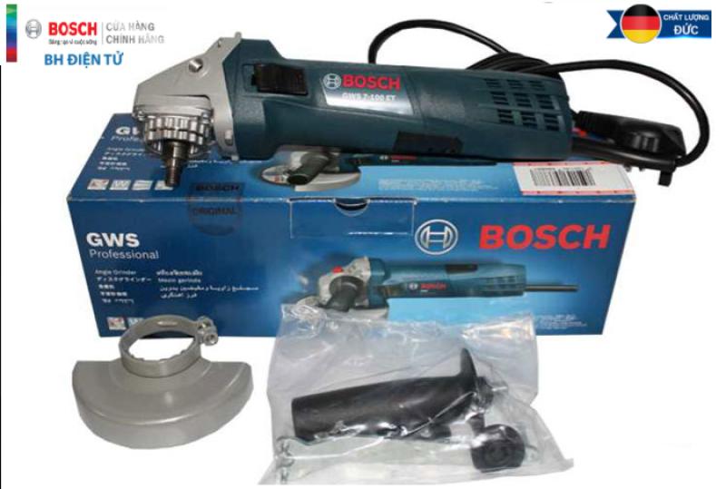 [Chính Hãng] Máy Mài Góc Bosch GWS 7-100 ET (100MM-720W) - Có Điều Tốc