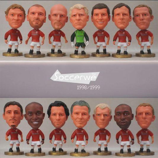 Offer Ưu Đãi Tượng Cầu Thủ đội Hình Manchester United 1998-2008 (tổng Hợp)