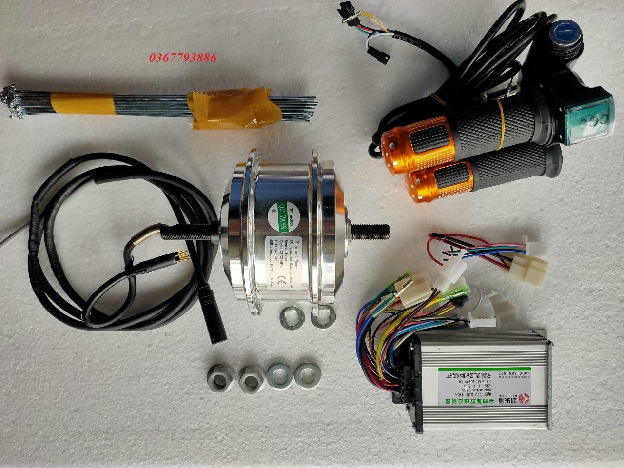 Mua DÀNH CHO XE THỂ THAO, bộ thiết bị cơ bản chuyển xe thể thao thành xe điện lắp bánh trước
