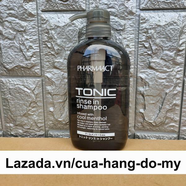 Dầu Gội Dành Cho Nam Pharmaact Tonic Rinse in Shampoo 600ml - Tonic Pharmaact giá rẻ