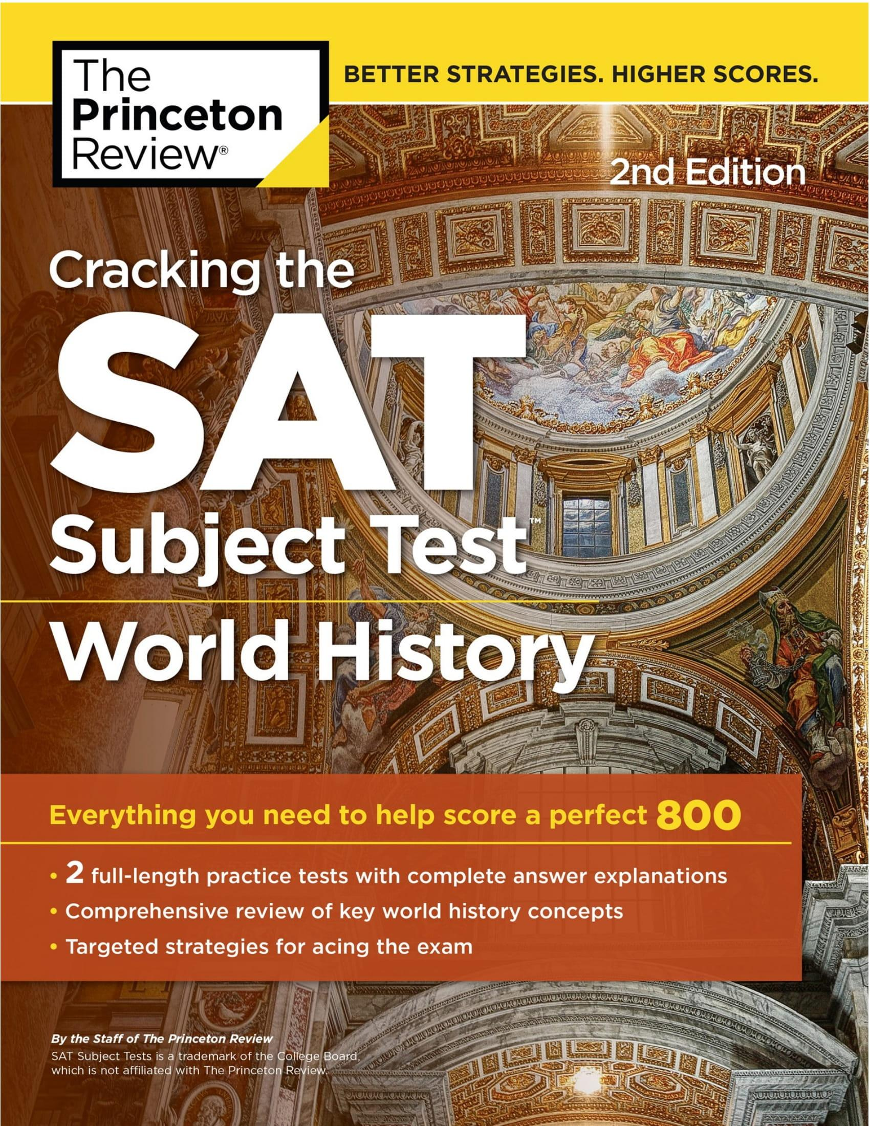 Mua Cracking the SAT Subject Test in World History, 2nd Edition