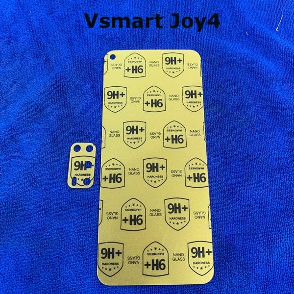 Combo dán ppf chống xước mặt trước và camera cho Vsmart Joy4