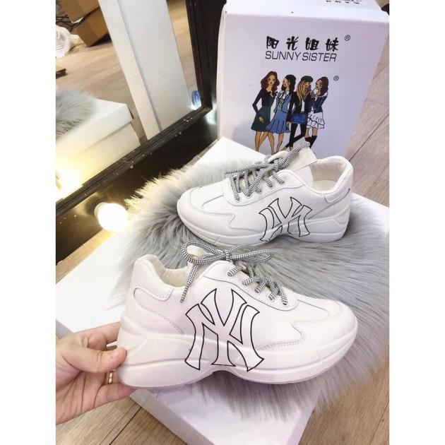 Giày thể thao , giày sneaker nữ chữ NY siêu đẹp giá rẻ