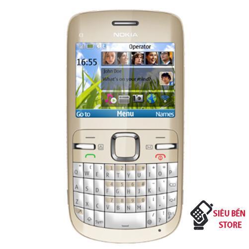 Điện Thoại Nokia C3-00 Có Wifi (Máy + Pin + Sạc) Đang Trong Dịp Khuyến Mãi