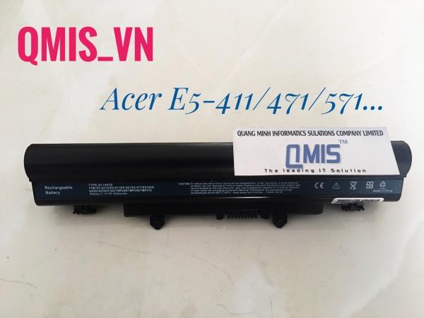 Bảng giá Pin laptop Acer Aspire E5-411, E5-421, E5-471, E5-472, E5-511, E5-551, E5-571, AL14A32 – E5-471 – 6 CELL Phong Vũ