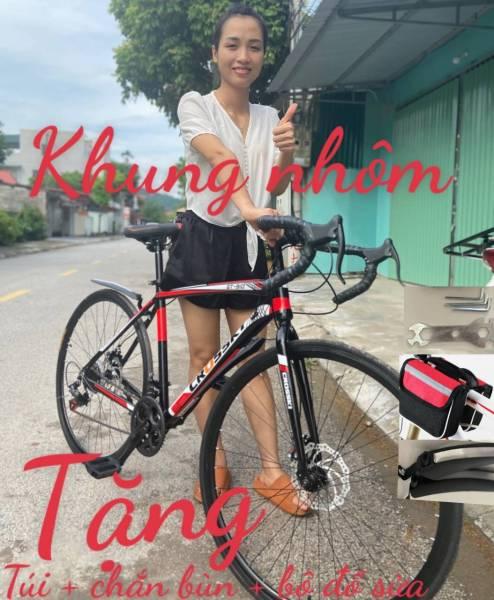 Mua xe đạp đua xe crooky đi cực nhẹ size 700cc - xe đạp leo núi - xe đạp tay cong - xe đạp leo núi địa hình -xe đạp thể thao người lớn- xe đạp địa hình -xe đạp thể thao người lớn