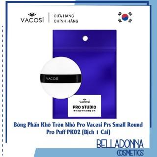 Bông Phấn Khô Tròn Nhỏ Pro Vacosi Prs Small Round Pro Puff Pk02 (Bịch 1 Cái) thumbnail