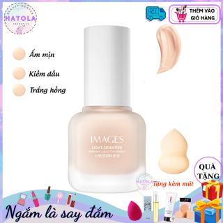 HATOLA - Kem nền che khuyết điểm nam nữ Image kiềm dầu, kháng nước lây trôi, tạo lớp phủ trắng hồng HTL-KN-IMAGES1 thumbnail