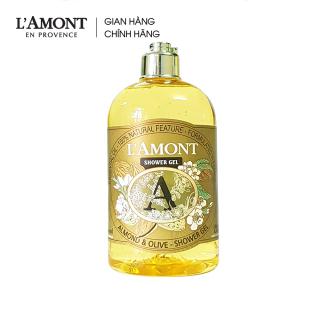 Sữa tắm Almond (hương hạnh nhân) 500ml - L Amont En Provence thumbnail