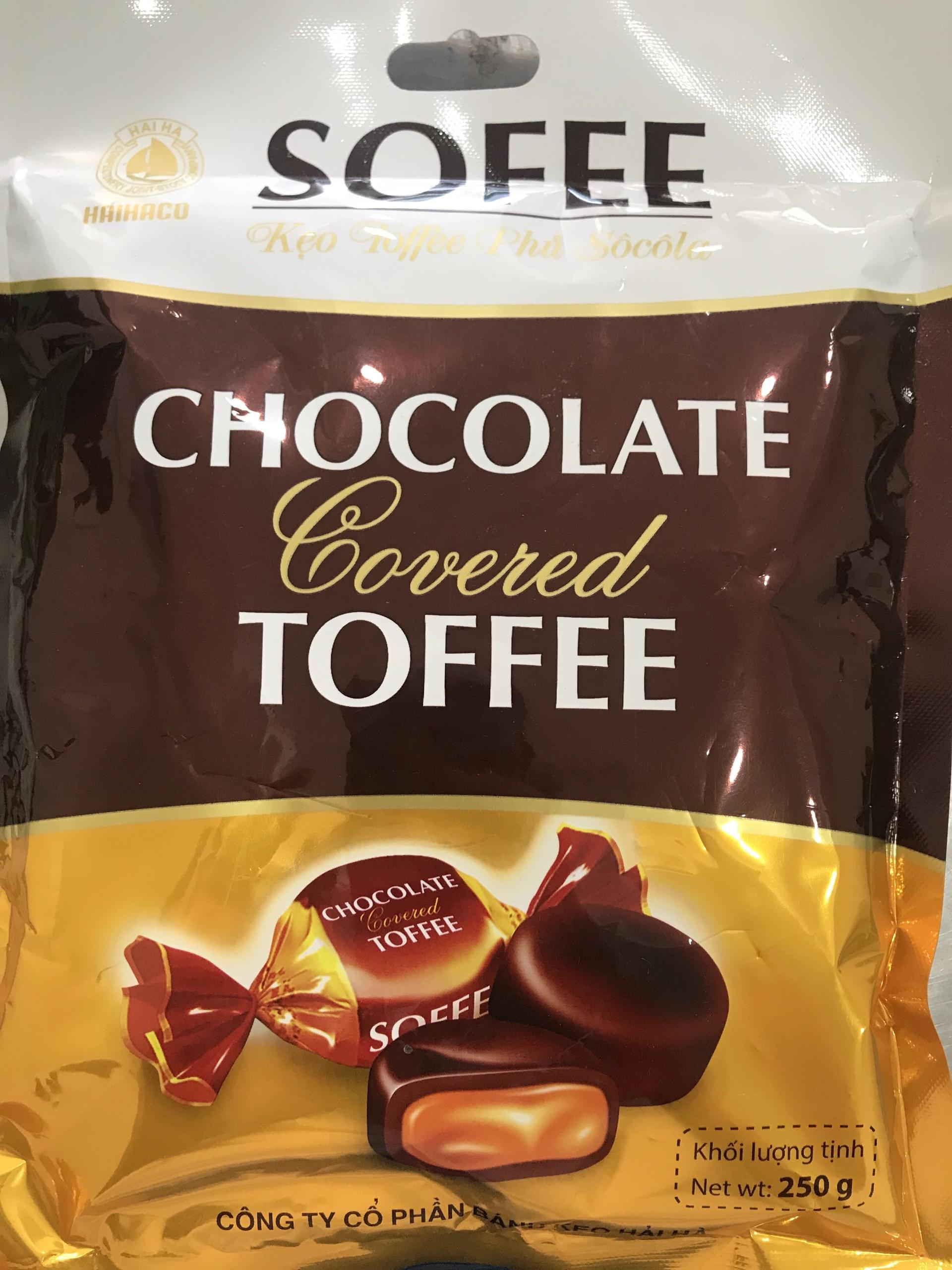 Kẹo viên Socola phủ Cà phê