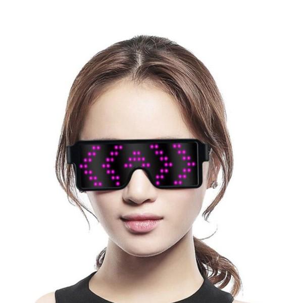 Mua Mắt Kính Đèn LED DJ Phát Sáng 8 Chế Độ - Hoacon Eyewear