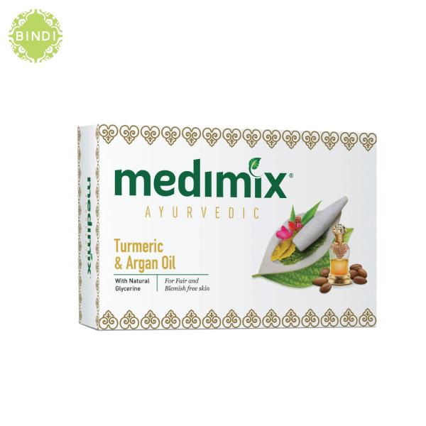 Set 3 Xà Phòng Medimix Nghệ & Dầu Argan ngừa mụn & thâm 125g