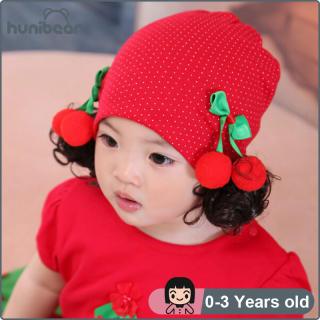 Bé Gái Hat Trẻ Em Của Tóc Giả Hat Kho Báu Đầu Cap Sơ Sinh Cotton Công Chúa Hat 0-3 Năm