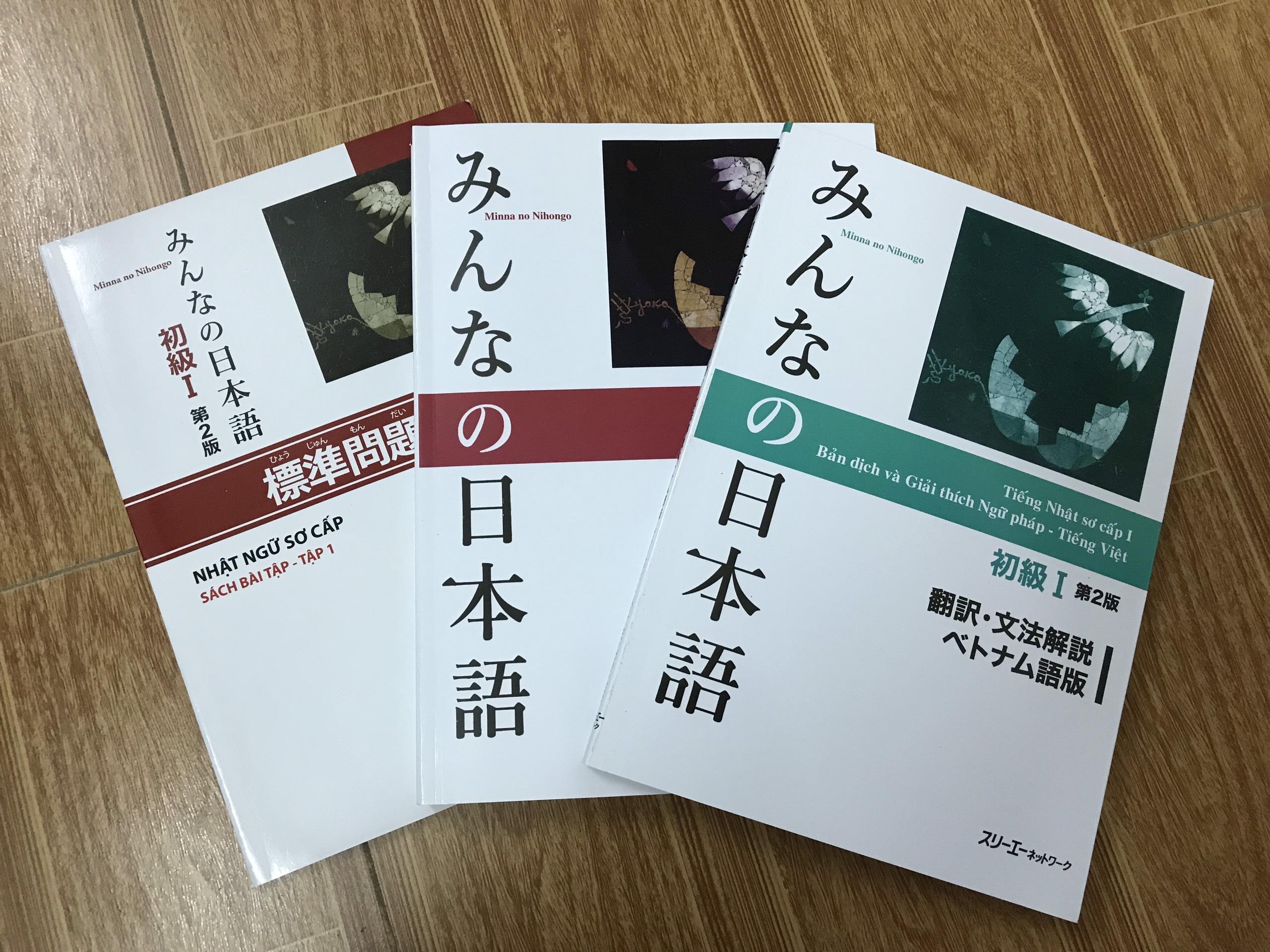 Combo Minna No Nihongo Sơ Cấp 1 Bản Mới (3 Cuốn) Giảm Cực Đã