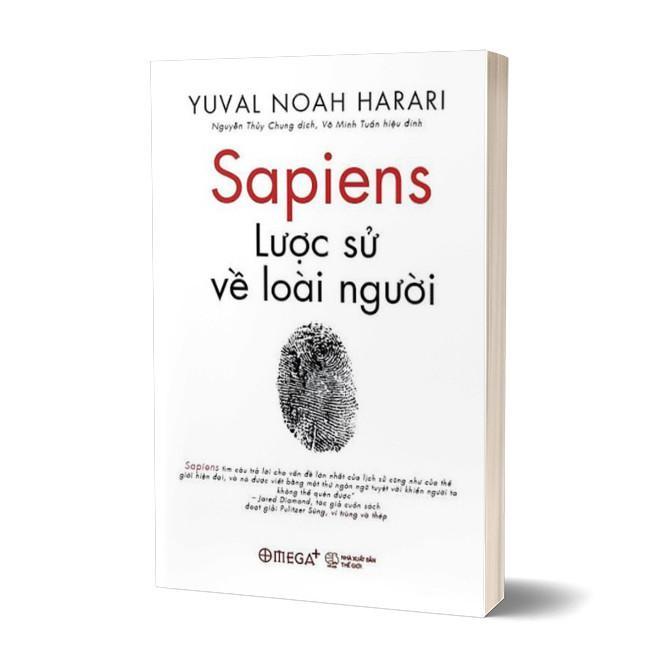 Voucher Khuyến Mãi Sapiens: Lược Sử Loài Người - Tặng Bookmark