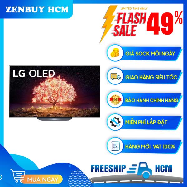Bảng giá [HCM]Smart Tivi OLED LG 4K 65 inch 65B1PTA - Tần số quét thực 120 Hz Tổng công suất loa 40W Hệ điều hành webOS 6.0