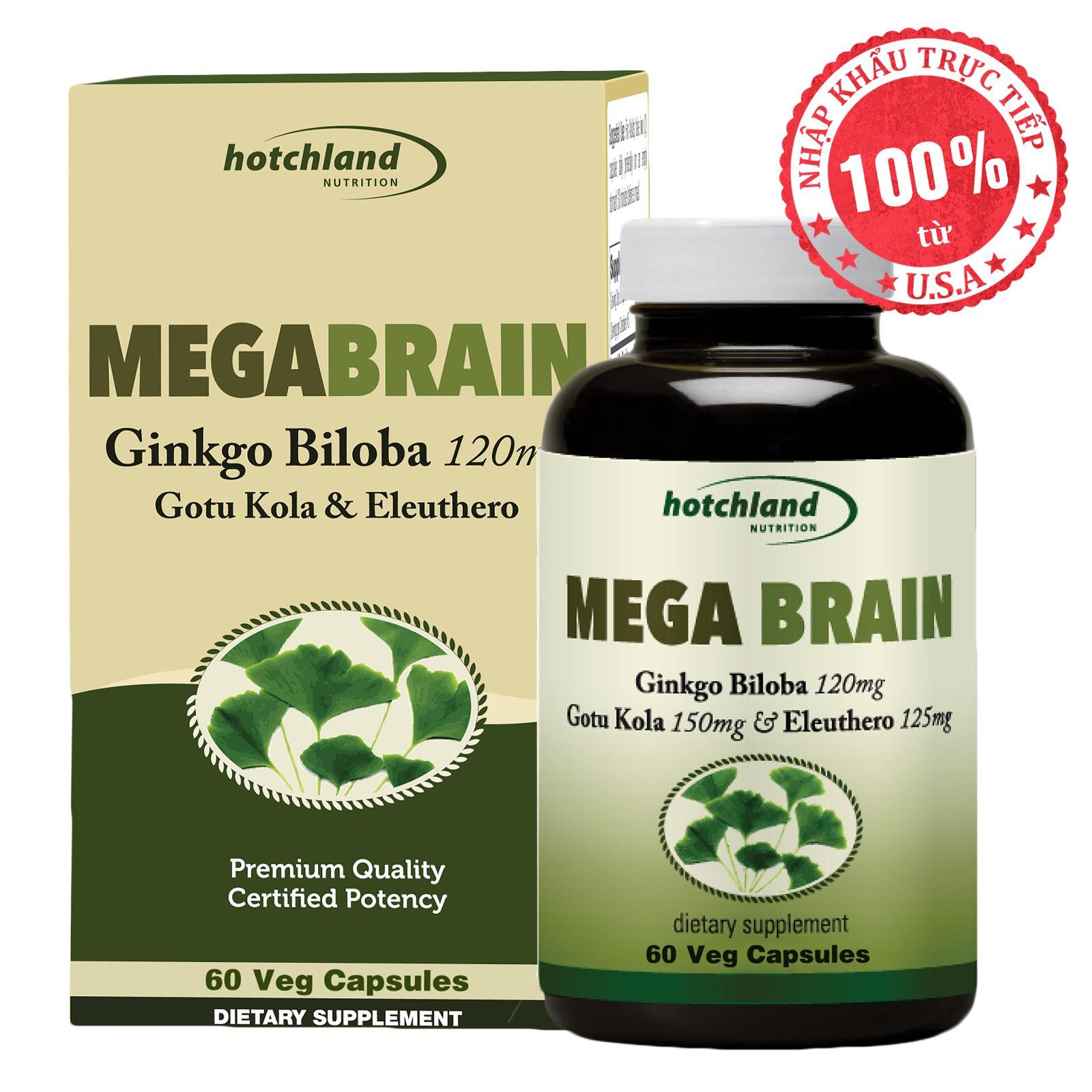 Thực phẩm chức năng giúp ngăn ngừa và điều trị các bệnh lý liên quan đến mạch máu não Mega Brain 0115