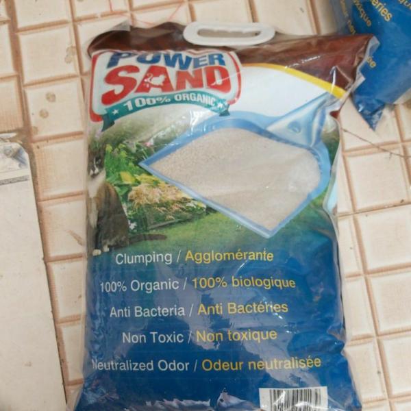 Phụ kiện cho mèo Cát vệ sinh cho chó mèo hương coffee cà phê POWER SAND