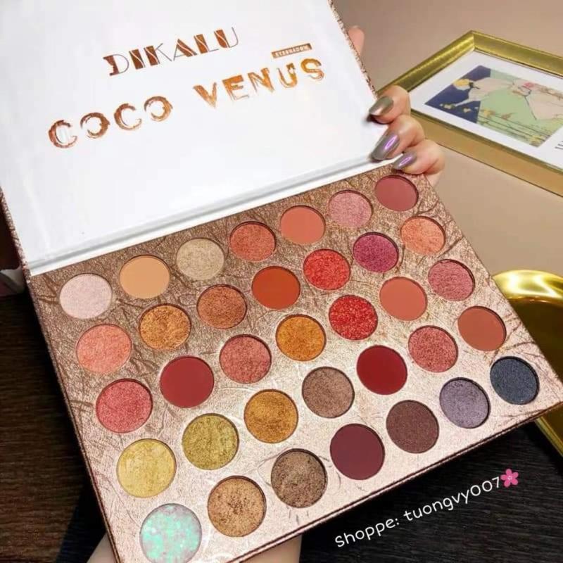Bảng màu mắt 35 ô Coco venus