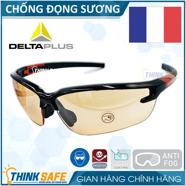Kính bảo hộ Deltaplus Fuji2 chống bụi, chống vỡ vụn,  mắt kính chống đọng hơi nước, kính chống tia UV , kiểu dáng hiện đại - Bảo hộ Thinksafe