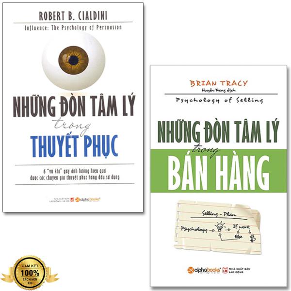 Combo 2 Sách: Những Đòn Tâm Lý Trong Thuyết Phục + Những Đòn Tâm Lý Trong Bán Hàng (Tặng Boomark)